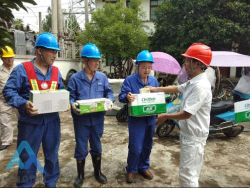 四川南充洪灾后,有序用电重安全